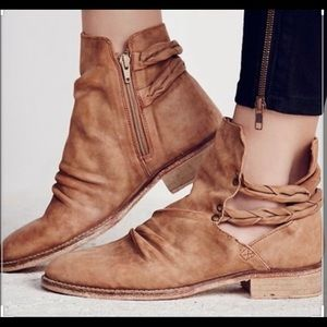 Free People Landslide Ankle Bootie Size 39